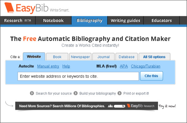 bibliography-website-format Images - Frompo - 1