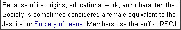 http://en.wikipedia.org/wiki/Society_of_the_Sacred_Heart