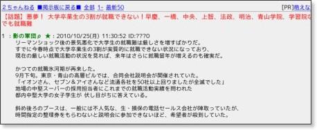http://kamome.2ch.net/test/read.cgi/newsplus/1287973852/