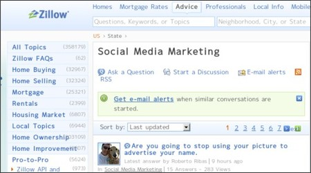 http://www.zillow.com/advice/US/pro-to-pro-social-media-marketing/question-discussion-guide/