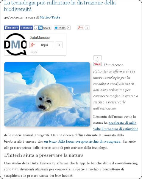 http://www.datamanager.it/news/la-tecnologia-pu-rallentare-la-distruzione-della-biodiversit-56860.html
