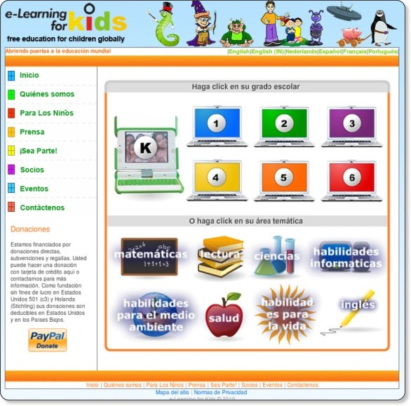 http://www.e-learningforkids.org/es/index_es.html