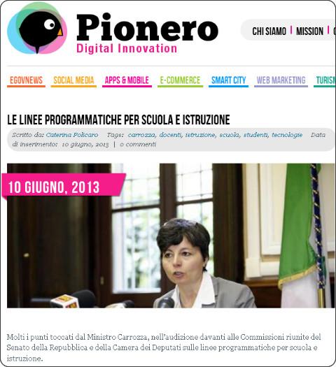 http://www.pionero.it/2013/06/10/le-linee-programmatiche-per-scuola-e-istruzione/