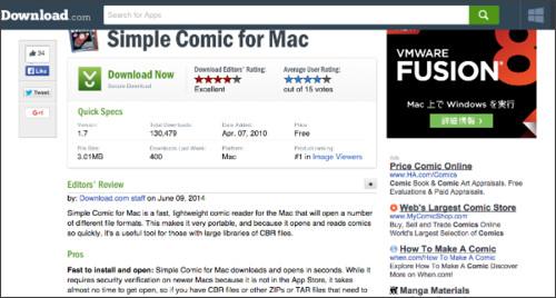 http://download.cnet.com/Simple-Comic/3000-18488_4-127536.html