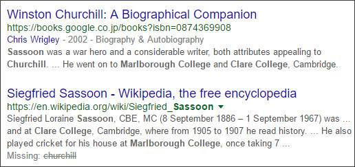 https://www.google.co.jp/search?hl=EN&q=Marlborough+College+Clare+College%E3%80%80Churchill+Sassoon&ei=ATIKV9b6LNS4jwPO8Y3YBw