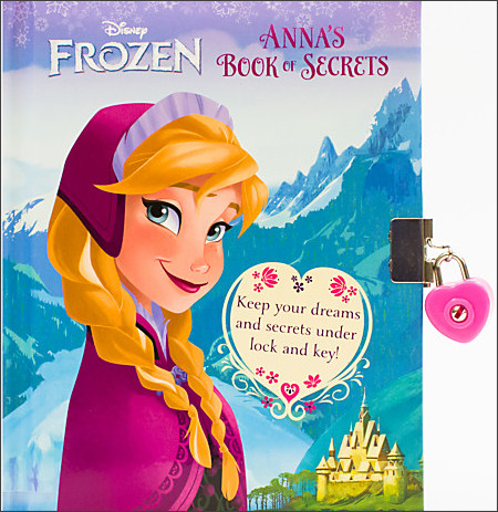 http://www.disneystore.com/frozen-annas-book-of-secrets-book/mp/1353800/1000232/