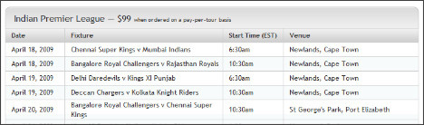http://www.directv.com/DTVAPP/global/contentPageNR.jsp?assetId=1100076&footernavtype=-1#Indian%20Premier%20League-IPL
