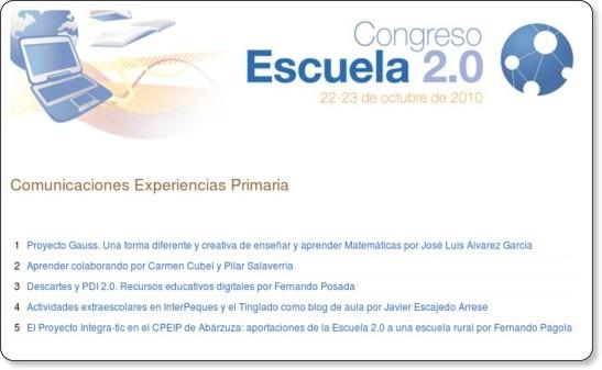 http://www.ite.educacion.es/escuela20/index.php/es/comunicaciones/experiencias-en-primaria