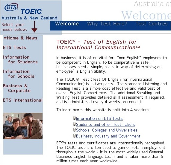 http://www.pro-match.com/toeic/TOEIC_Home/Welcome.html