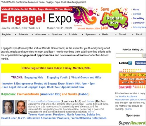 http://www.engageexpo.com/