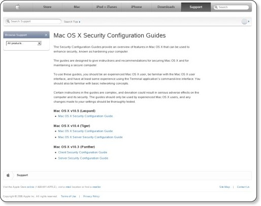 http://www.apple.com/support/security/guides/