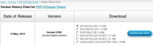 http://www.tracker-software.com/version/pdf-xchange-viewer