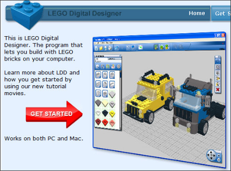 http://ldd.lego.com/default.aspx