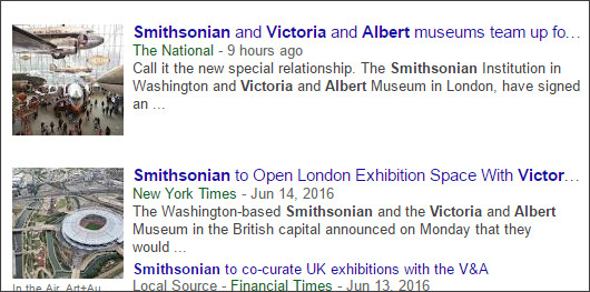 https://www.google.com/#hl=en&gl=us&authuser=0&tbm=nws&q=smithsonian+Victoria+Albert