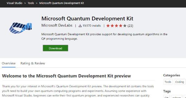 https://marketplace.visualstudio.com/items?itemName=quantum.DevKit