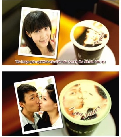 http://designtaxi.com/news/358632/Coffee-Chain-Prints-Customers-Faces-On-Their-Lattes/