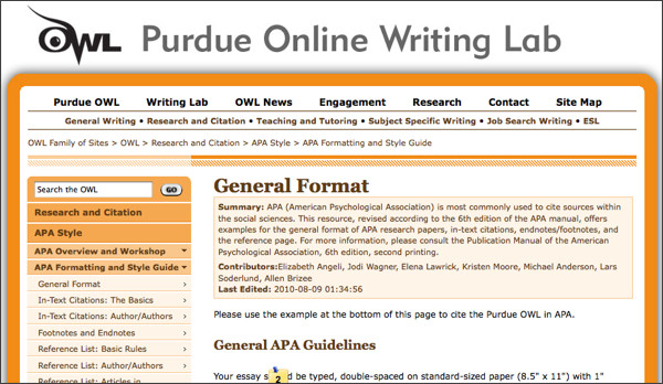 apa citation maker owl purdue