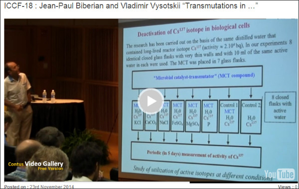 http://www.coldfusionvideos.com/videogallery/iccf-18-jean-paul-biberian-and-vladimir-vysotskii-transmutations-in/