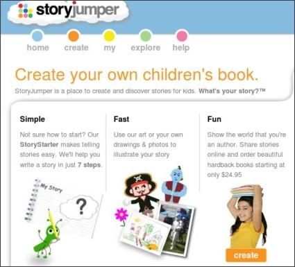 http://www.storyjumper.com/