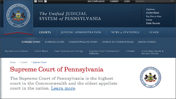 http://www.pacourts.us/courts/supreme-court/