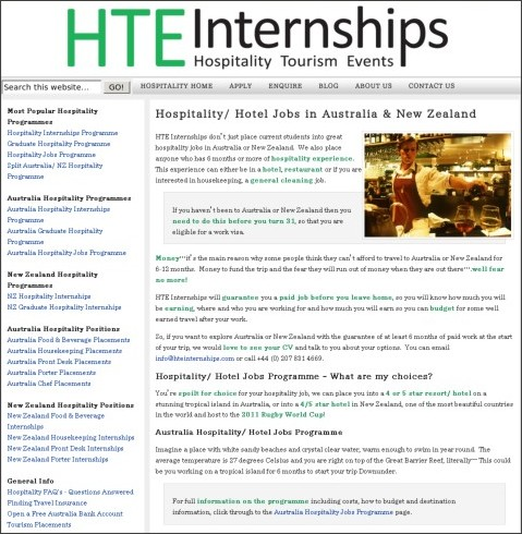 http://www.hospitalityinternship.com/hospitality-jobs/