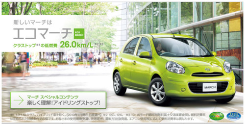 http://www.nissan.co.jp/MARCH/