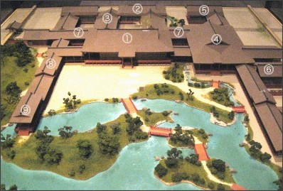 http://upload.wikimedia.org/wikipedia/commons/d/db/Miniature_Model_of_HigashiSanjoDono.jpg