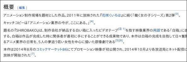 https://ja.wikipedia.org/wiki/SHIROBAKO