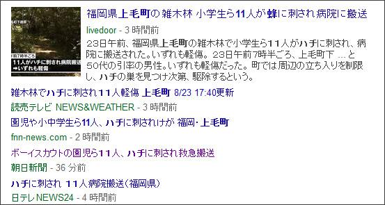 https://www.google.co.jp/search?hl=ja&gl=jp&tbm=nws&authuser=0&q=%E4%B8%8A%E6%AF%9B%E7%94%BA&oq=%E4%B8%8A%E6%AF%9B%E7%94%BA&gs_l=news-cc.12..43j43i53.2080.2080.0.4803.1.1.0.0.0.0.135.135.0j1.1.0...0.0...1ac.2.xBtbFoyRW7U#hl=ja&gl=jp&authuser=0&tbs=qdr:w&tbm=nws&q=%E4%B8%8A%E6%AF%9B%E7%94%BA%E3%80%8011%E3%80%80%E3%83%8F%E3%83%81
