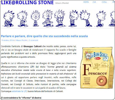 http://mauropresini.wordpress.com/2014/10/19/parlare-e-parlare-dire-quello-che-sta-succedendo-nella-scuola/