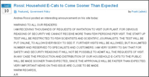 http://www.e-catworld.com/2011/09/rossi-household-e-cats-to-come-sooner-than-expected/