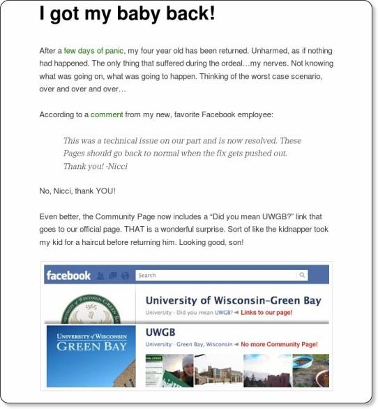 http://blog.uwgb.edu/social-web/i-got-my-baby-back/