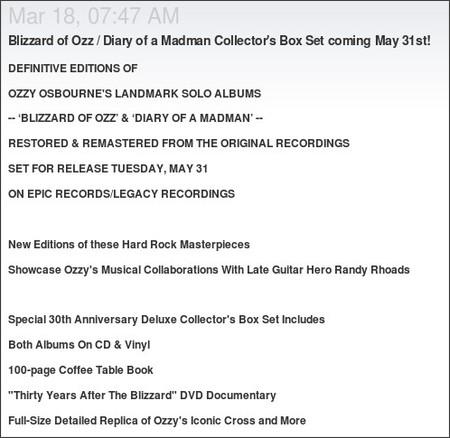 http://www.ilike.com/artist/Ozzy+Osbourne/bulletins