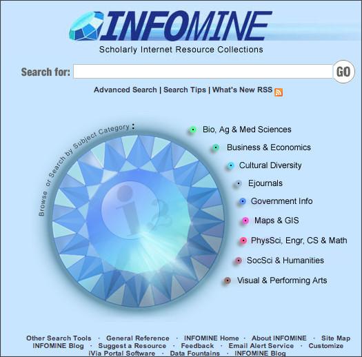 http://infomine.ucr.edu/