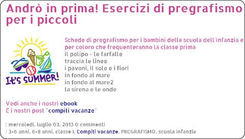 http://www.ciaomaestra.com/search/label/Compiti%20vacanze