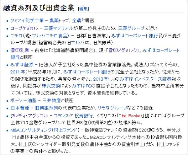 http://ja.wikipedia.org/wiki/%E8%BE%B2%E6%9E%97%E4%B8%AD%E5%A4%AE%E9%87%91%E5%BA%AB
