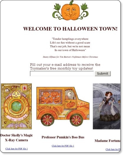 http://thetoymaker.com/Holidays/Halloween/1HALLOWEEN.html