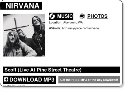 http://rcrdlbl.com/artists/Nirvana/track/Scoff_Live_At_Pine_Street_Theatre