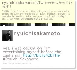 http://twitter.com/ryuichisakamoto