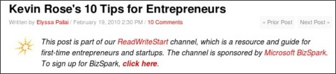 http://www.readwriteweb.com/start/2010/02/kevin-rose-10-tips-for-entrepreneurs.php