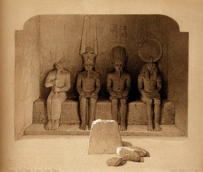 http://web.mac.com/musicksmonumentbergh/EGYPT_%26_NUBIA_VOL_I/THE_SANCTUARY_OF_THE_GREAT_TEMPLE_OF_ABOO-SIMBEL,_NUBIA..html