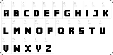 http://www.dafont.com/minecrafter.font