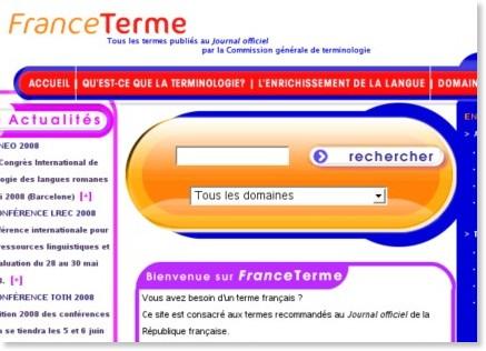 http://franceterme.culture.fr/FranceTerme/