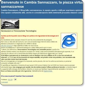 http://cambiasannazzaro.blogspot.com/