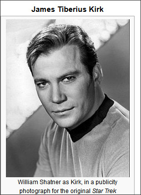 http://en.wikipedia.org/wiki/James_T._Kirk