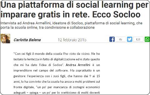 http://ischool.startupitalia.eu/34078/ischool-2/una-piattaforma-di-social-learning-per-imparare-gratis-in-rete-ecco-socloo/