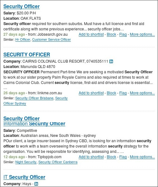 http://www.jobisjob.com.au/security+officer/jobs