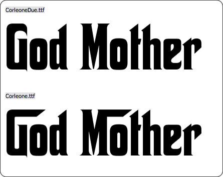 http://www.dafont.com/godfather.font?text=God+Mother&psize=l