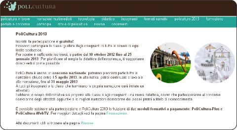 http://www.policultura.it/attuale.html