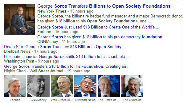 https://www.google.com/search?q=Soros+Open+Society+Foundation+18+Billion&source=lnms&tbm=nws&sa=X&ved=0ahUKEwiEwJHz-vnWAhWnqlQKHZ0FDu8Q_AUICigB&biw=1190&bih=800
